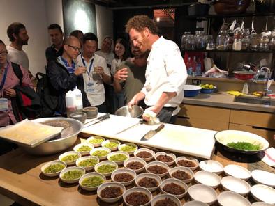 Trade Mission Dinner @ Burek with Chef Barak Yehezkeli
