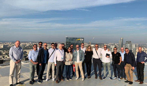 Danna Azrieli hosts Investor Delegation led by Josh Liberman