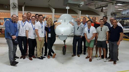 Investors Delegation, co-led by Rafi Lamm- L1 & Stephen Silver- Hunter Capital @ Aeronautics an innovative unmanned aerial systems developer