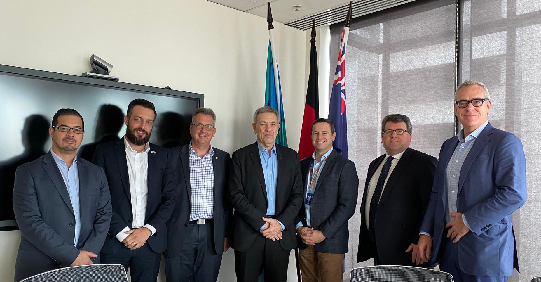 IACC meets Simon Phemister, Secretary- Department of Jobs, Precincts & Regions
