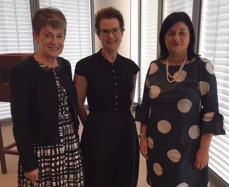 Mission Leaders- Elizabeth Proust AO, Chair- Nestle Australia, Bank of Melbourne & NED- Lendlease, Carol Schwartz AO, Board Member- RBA & First International Bank's CEO- Smadar Barber-Tsadik