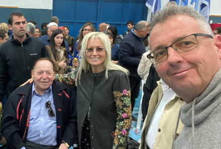 Sheldon & Miri Adelson with Paul Israel- IACC