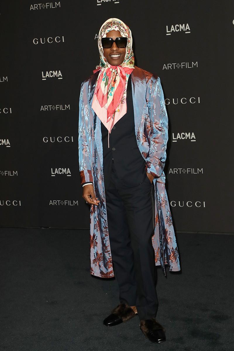 Asap Rocky в Gucci