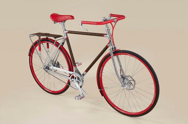 Бренд Louis Vuitton представил эксклюзивный велосипед
