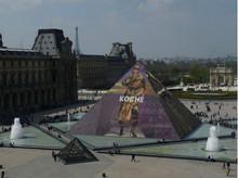 БрендKOCHÉпредставил свой осенне-зимний кампейн на башне Лувра