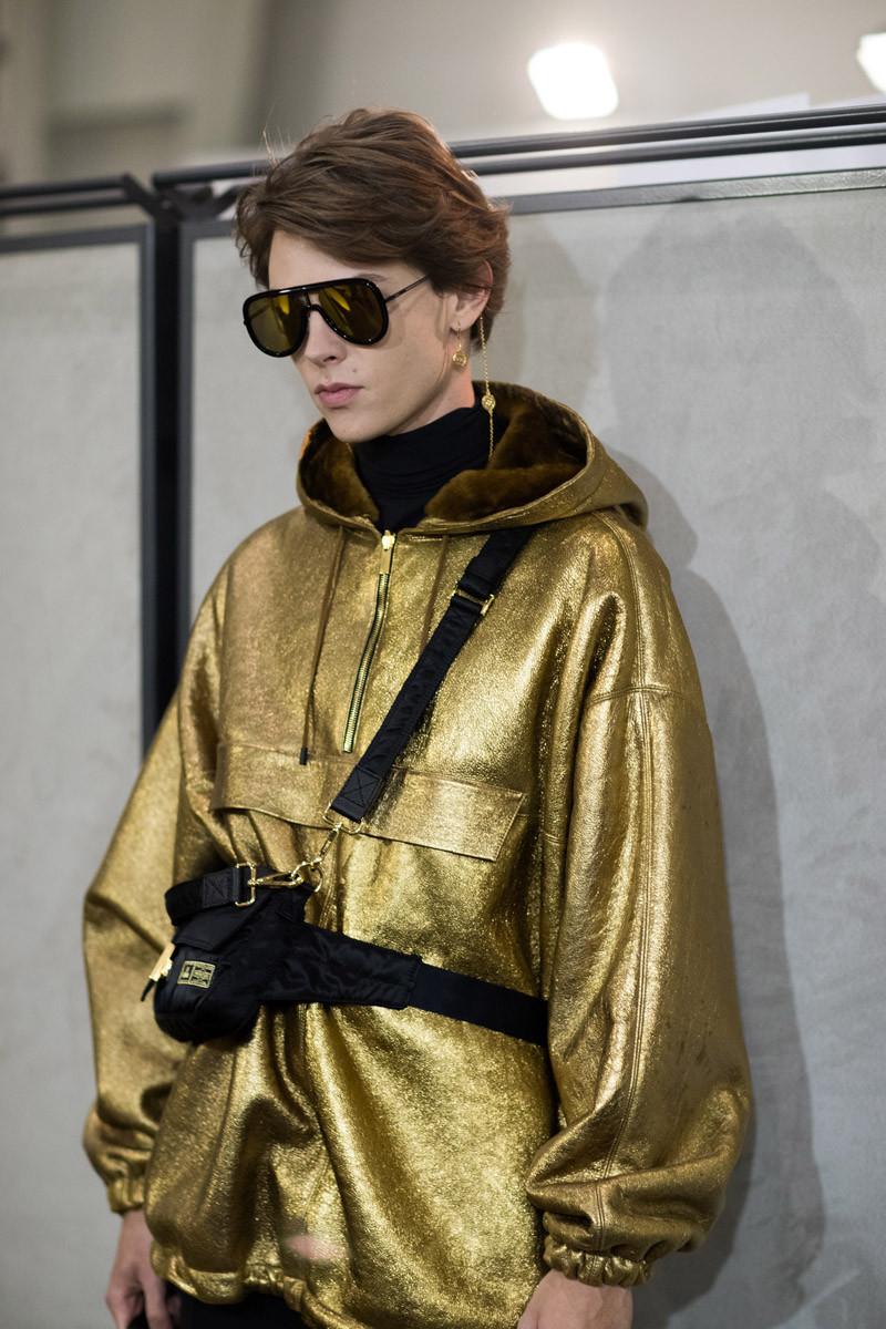 Fendi Fall 2019 Menswear, сумка из коллаборации FendixPORTER