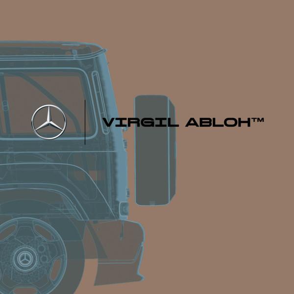 Коллаборация от Mercedes-Benz и Virgil Abloh