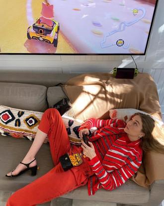 Квартира Джиджи Хадид: яркие краски, уют и Нью-Йорк