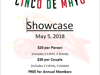 Sign Up for Cinco de Mayo Showcase May 5, 2018
