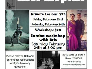Samba Workshop with Eric Koptke February 24th