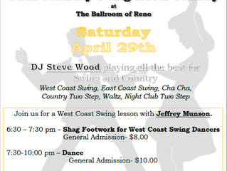Swing Meets Country Dance April 29