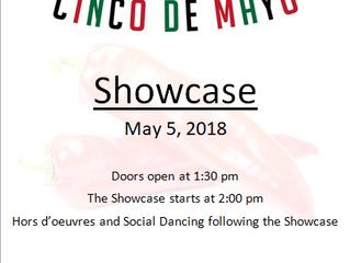 Cinco de Mayo Showcase May 5, 2018