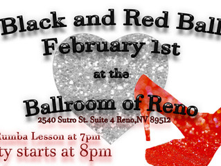 Saturday, February 1st, Dance Party and  Rumba Lesson