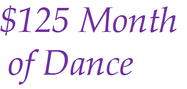 $125 Month of Dance