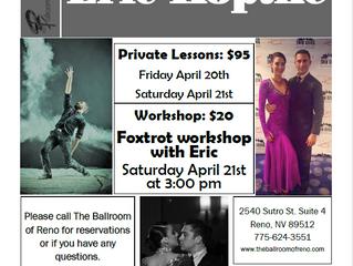 Foxtrot Workshop with Eric Koptke April 21st