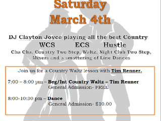 Classic Country Dance March 4