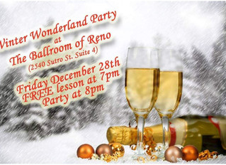 December 28th Lesson and Party