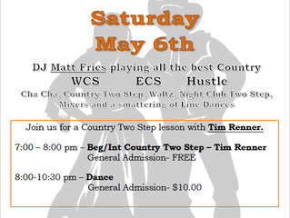 May 6 Country Dance