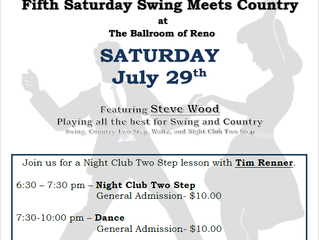 RRR Swing Meets Country July 29