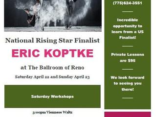 Eric Koptke April 22nd