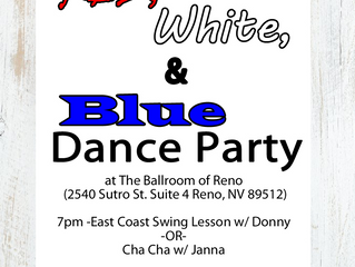Saturday July 6th East Coast Swing or Cha Cha Lesson Before the Dance Party