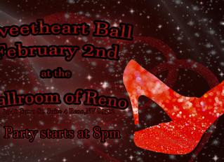 Sweetheart Ball on Saturday Feb 2nd