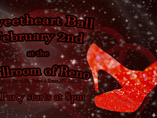 Sweetheart Ball on Saturday Feb 2nd
