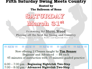 RRR Swing Meets Country March 31st