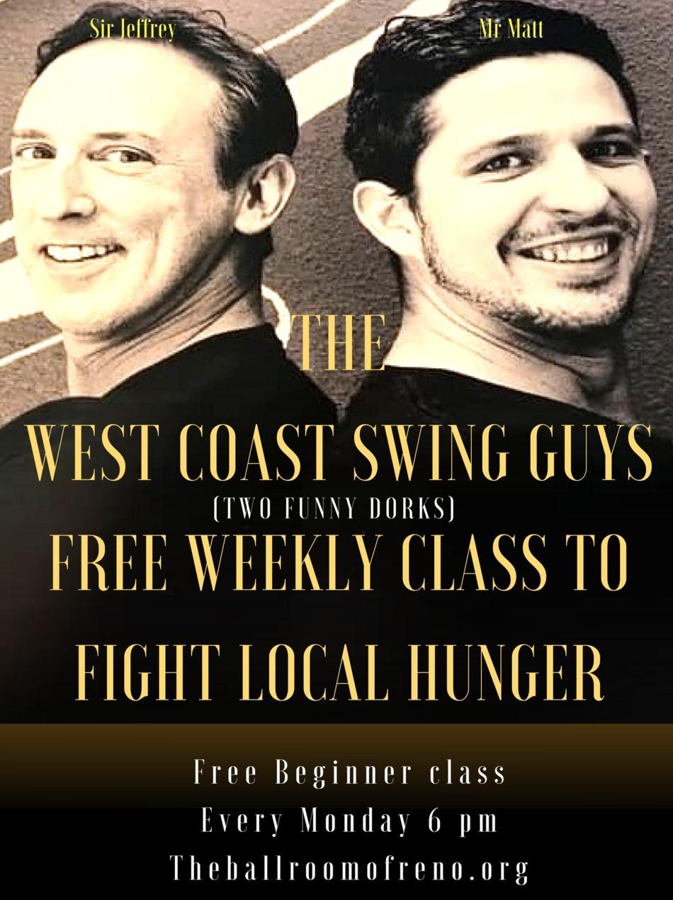 West Coast Swing free beginner class