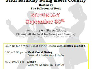 RRR Swing Meets Country September 30th