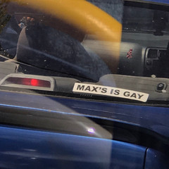 MAX'S IS GAY