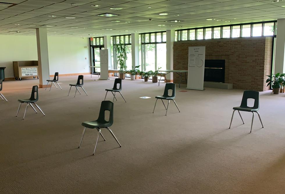 Reconciliation waiting area