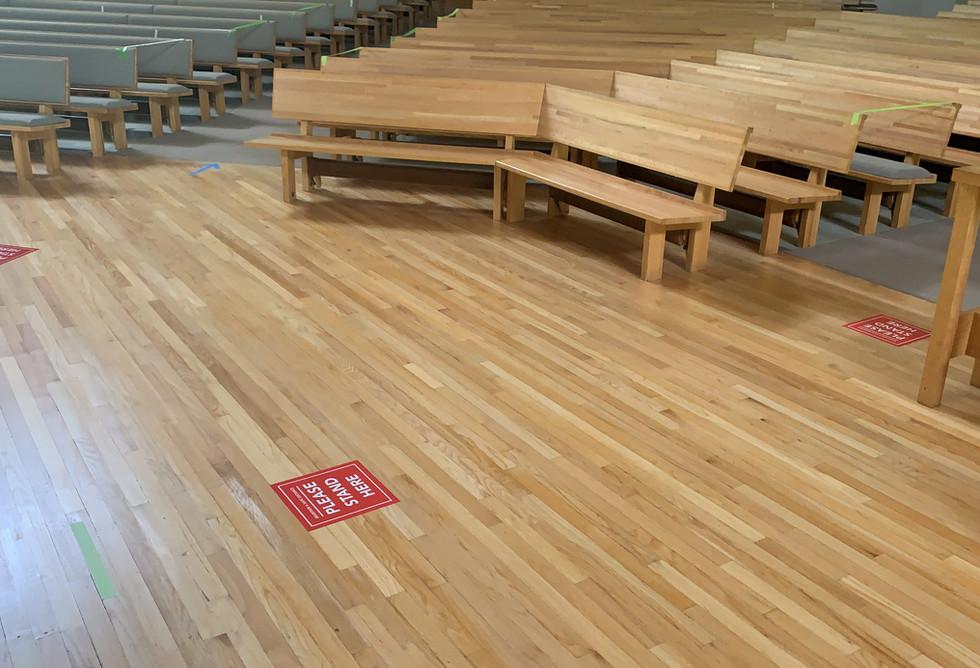 markings for Communion