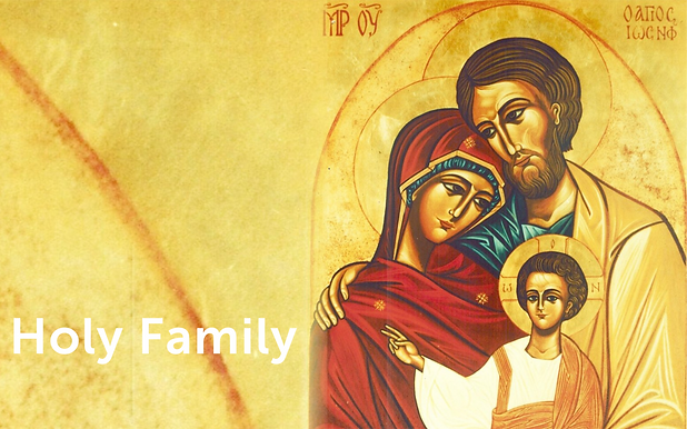 A FAMILY FROM NAZARETH A MODEL FOR ALL FAMILIES