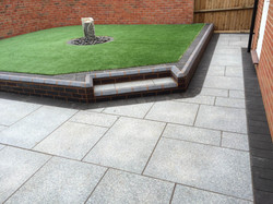 Brett Elite Silver Granite Paving