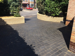 Brett Charcoal Block Paving