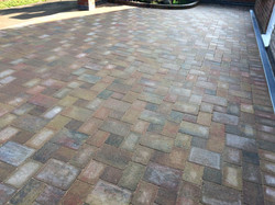 Brett Autumn Gold Block Paving