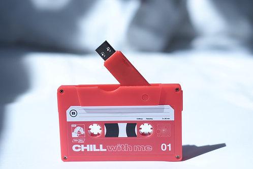 Red Cassette USB