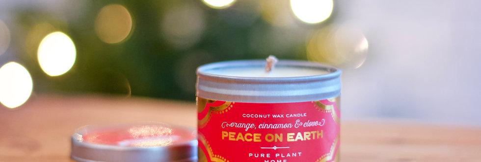 Peace on Earth Candle