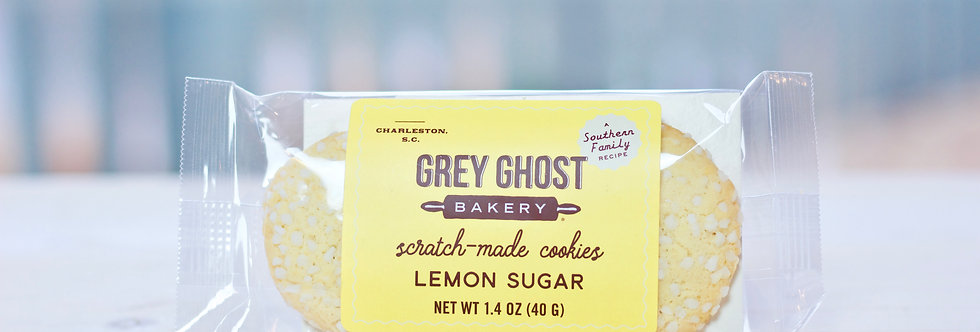 Grey Ghost Cookies