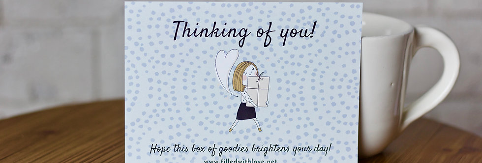 """""""Thinking of you"""" Cards"""