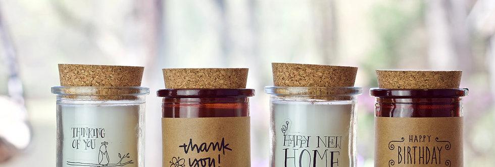 Cork Jar Candles