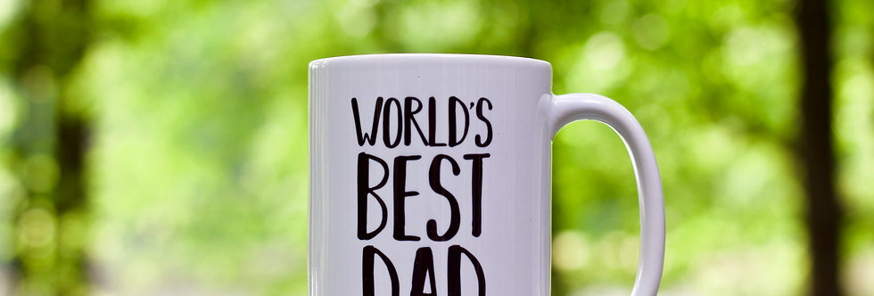 """World's Best Dad"" Mug"