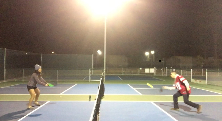 Pickleball any time, any weather, any attire.