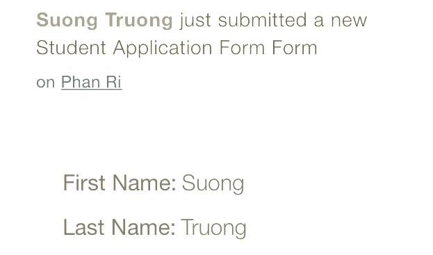Suong (Loan) Truong is #1!