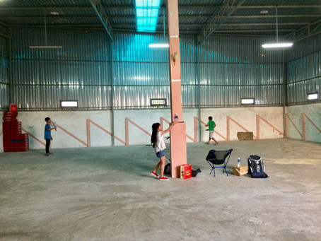 Day 3: The First Pickleball Court in Vietnam!
