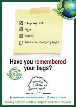 Plastic Bag Free Cobham poster