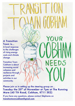 The first Transition Cobham poster