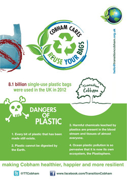 Reuse Your Bags leaflet -