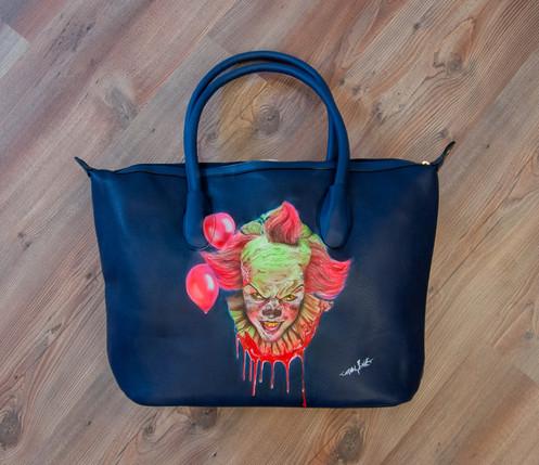 Tasche Clown Tasche Design Horror Airbrush Horror Airbrush Clown O0wknP